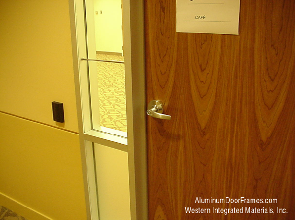 WESTERN INTEGRATED ALUMINUM DOOR FRAME 3/0 7/0 4-3/4 CLEAR ANODIZED