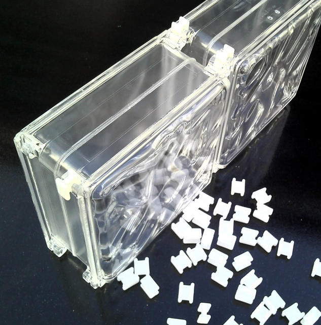 acrylic blocks and glass blocks
