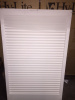 STATIONARY SLAT BLINDS (24 X 49) - PRIMED